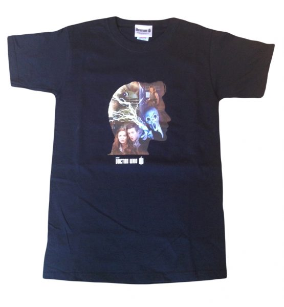 11th Doctor Who Matt Smith Official 'Silhouette' Exclusive Adults T-Shirts