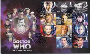 Doctor Who 2013 50th Anniversary Signed First Day Stamp Covers
