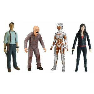 Torchwood Action Figures Wave 1: Weevil, Cyberwoman, Gwen & Captain Jack
