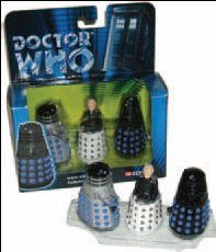 Doctor Who Corgi Rememberance Of The Daleks - Davros + 2 New Daleks - (5,000 Sets)