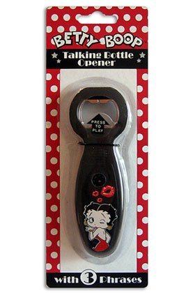 Betty Boop Talking Bottle Opener