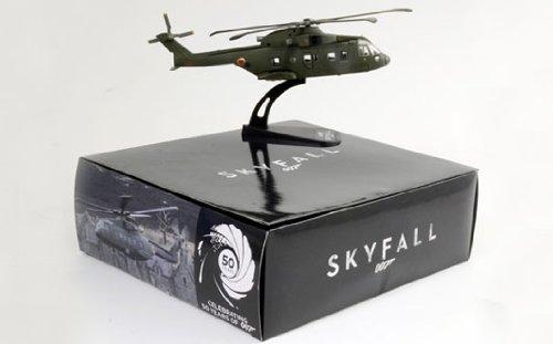 James Bond 007 Skyfall - AW101 Agusta Westland Die Cast - 1:100 Scale