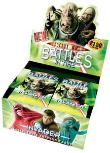 Doctor Who Battle In Time Trading Cards 32 Packs, Each £1.50 Rrp