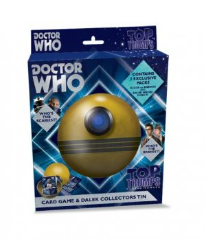 Doctor Who Top Trump 50th Anniversary Talking Dalek Limited Edition Set