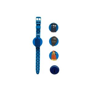 Doctor Who Kids Interchangeable Head LCD Watch DR110