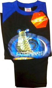 Doctor Who Official Kids Pyjamas
