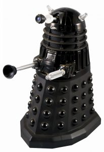 Doctor Who Diecast 5 Inch Black Dalek