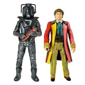 Doctor Who Sixth Doctor With Stealth Cyberman Exclusive Figure Set