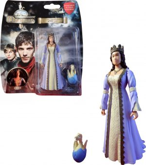 Merlin 3.75 Numbered Ltd Edition Gwen Figure & Baby Dragon