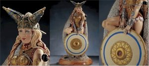 """Achilleos Boadicea: Queen of the Iceni 14"""" LTD Statue"""