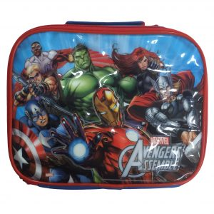 Marvel Avengers Lunch Bag, Flask & Sandwich Box