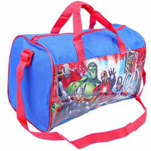 Official Marvel Avengers Sports Bag / Sleepover Bag