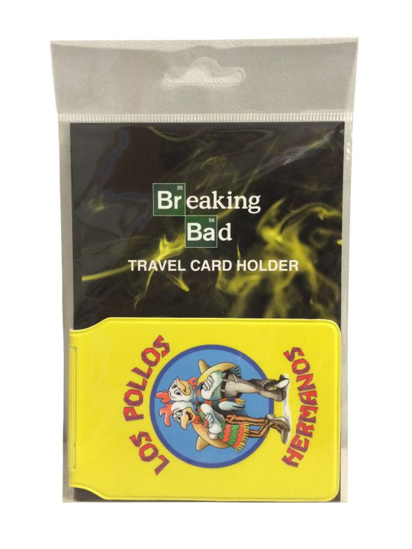 Official Breaking Bad Los Pollos Hermanos Travel Pass Holder
