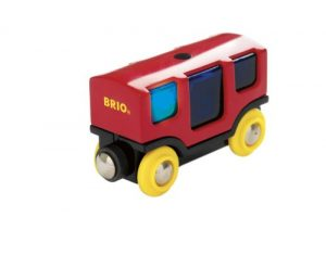 BRIO 33769 Wooden Railway System: Smart Track Wagon