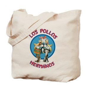 Official Breaking Bad Los Pollos Hermanos Tote Bag