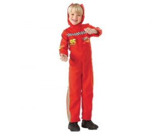 Child Cars 2 Lightning McQueen Fancy Dress Costume (Small - 3-4 Years)