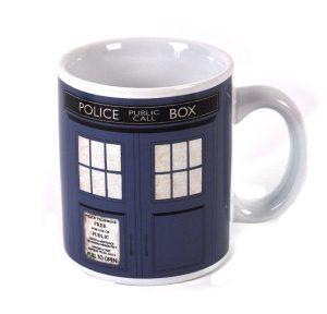 Doctor Who Tardis Police Public Call Box Boxed Mug