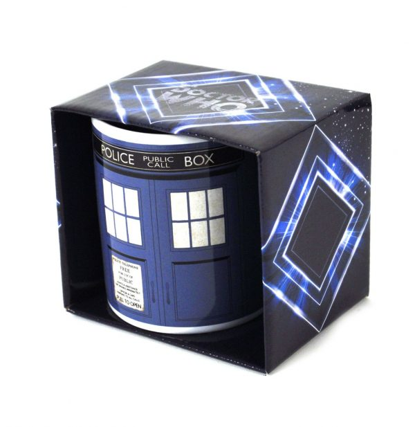 Doctor Who Tardis Police Public Call Box Boxed Mug
