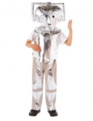 Doctor Who Cyberman Costume Small & Medium Sizes