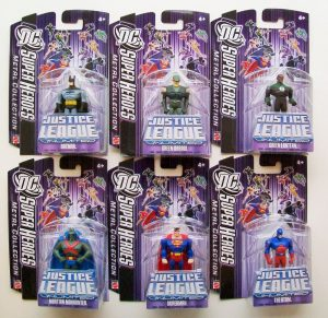 Dc Universe Diecasts Asstd - 4 Batman 4 Superman, Plus 4 Different
