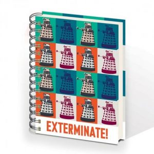 Doctor Who A5 Exterminate Notebook