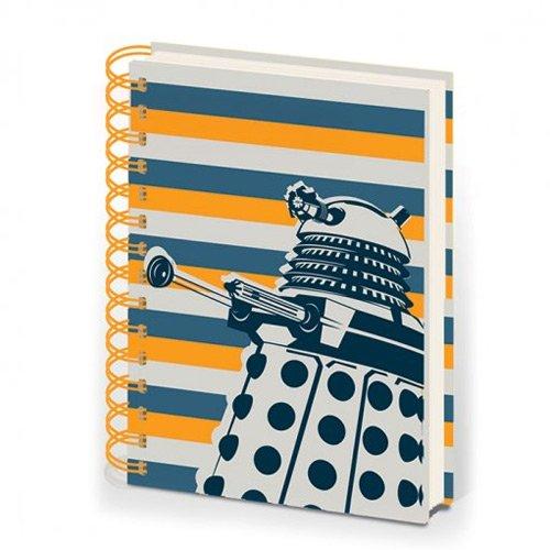 Doctor Who A5 Dalek Stripe Notebook