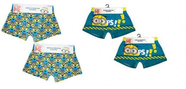 Despicable Me Minions Boys Boxer Shorts