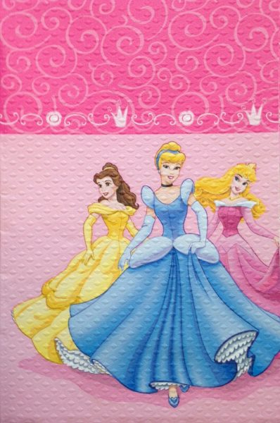 Disney Princess Party Tablecover / Cloth 8766