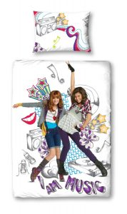 Disney Shake It Up Glow Girl Single Panel Duvet Set 35 x 200 cm