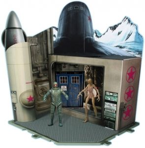 Doctor Who - Cold War 1983 Time Zone Playset