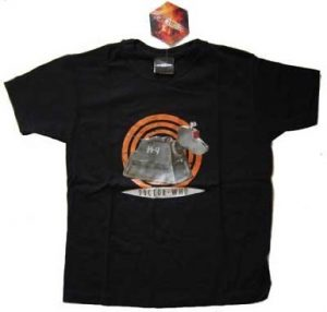 Doctor Who K9 T-Shirt in Black - Assorted