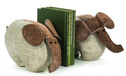 Dora Designs Ellie Elephant Bookends