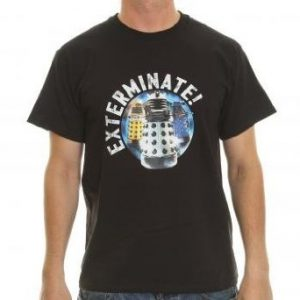 Doctor Who Exterminate! Official DALEKS Adult T-Shirt - Assorted