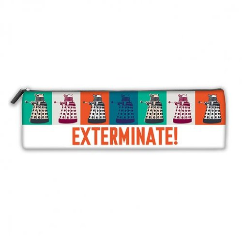 Doctor Who Dalek Exterminate Official Pencil Case