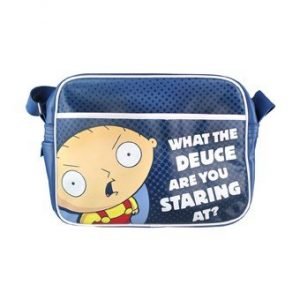 Family Guy Retro Messenger Sports Shoulder Bag Stewie What The Deuce