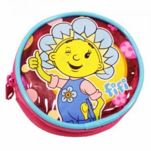 Fifi And The Flower Tots Round Coin Purse Pink