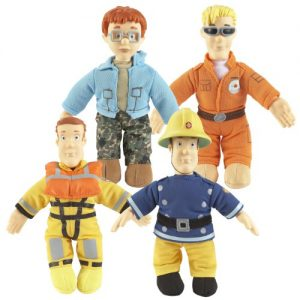 Fireman Sam 8 Inch Plush Assortment