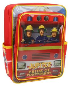 Fireman Sam Square Jupiter Back Pack