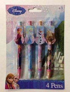 Disney Frozen Character Pens (4 Pack)
