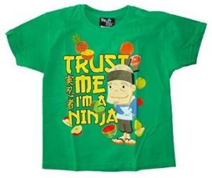 Official Fruit Ninja 'Trust Me I'm a Ninja' Child's T-Shirt