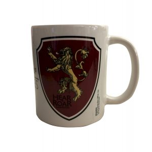 Official Game of Thrones House Lannister Mug (Hear Me Roar)