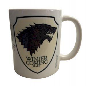 Official Game of Thrones House Stark Mug (Winter is Coming)