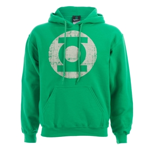 Green Lantern - Distressed Logo Hoody - Assorted