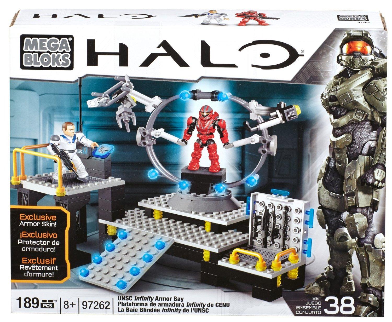 Halo Mega Bloks Infinity Armor Bay Get Retro