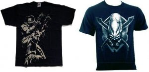 Halo T-shirts Mixed Sizes and Styles