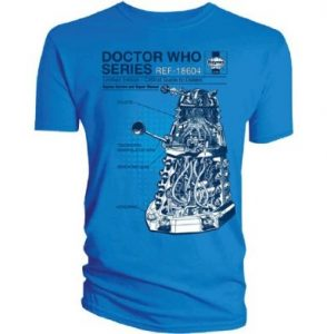 Doctor Who Official T Shirt Manual CRITICAL DALEK Haynes