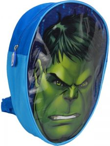 Marvel Avengers The Incredible Hulk Head Shaped Children's Backpack