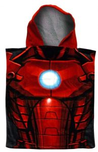 Marvel Avengers Assemble Kids Bath Poncho - Iron Man
