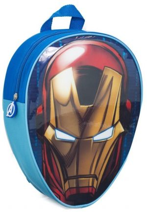 Marvel Avengers Iron Man Head Shaped Children's Backpack