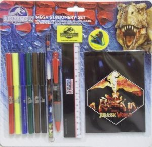 Jurassic World Mega Stationery Set